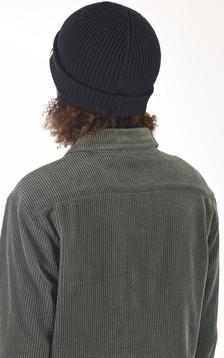Bonnet en laine Brice bleu marine