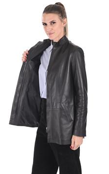 Veste confortable agneau noir