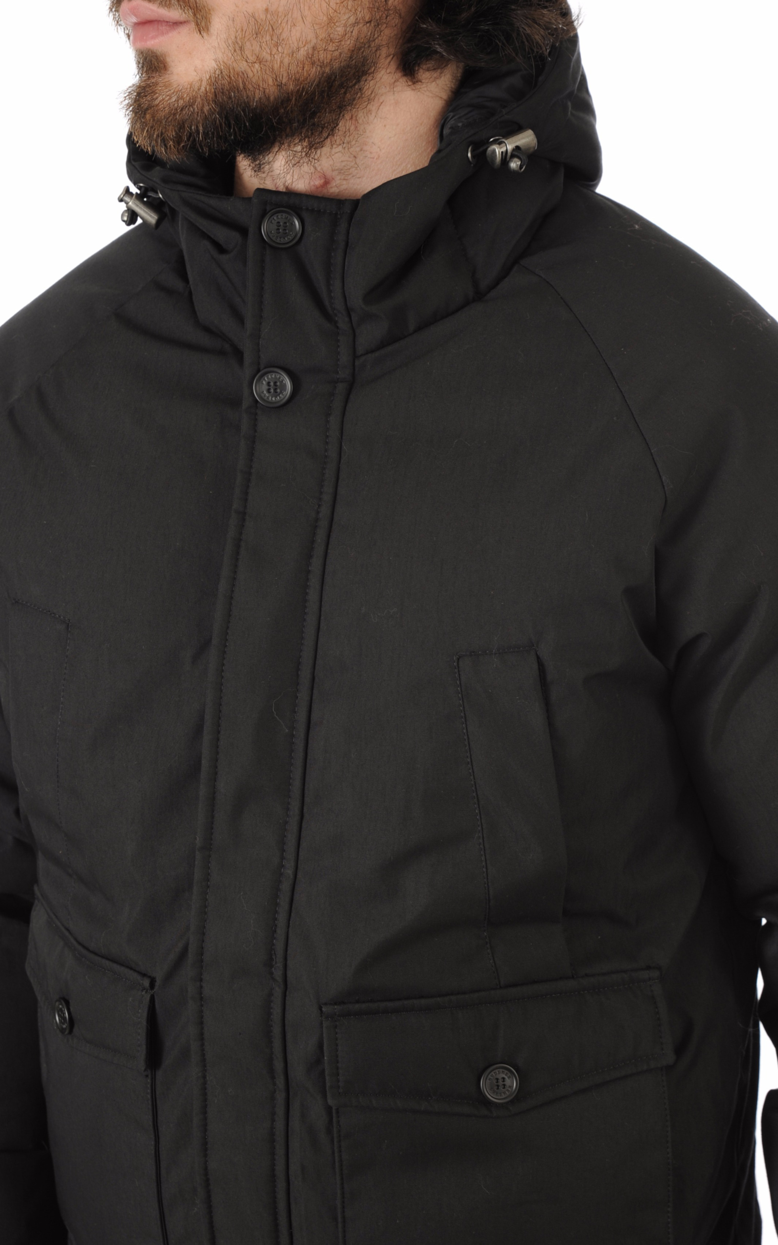 Blouson Mistral noir Pyrenex
