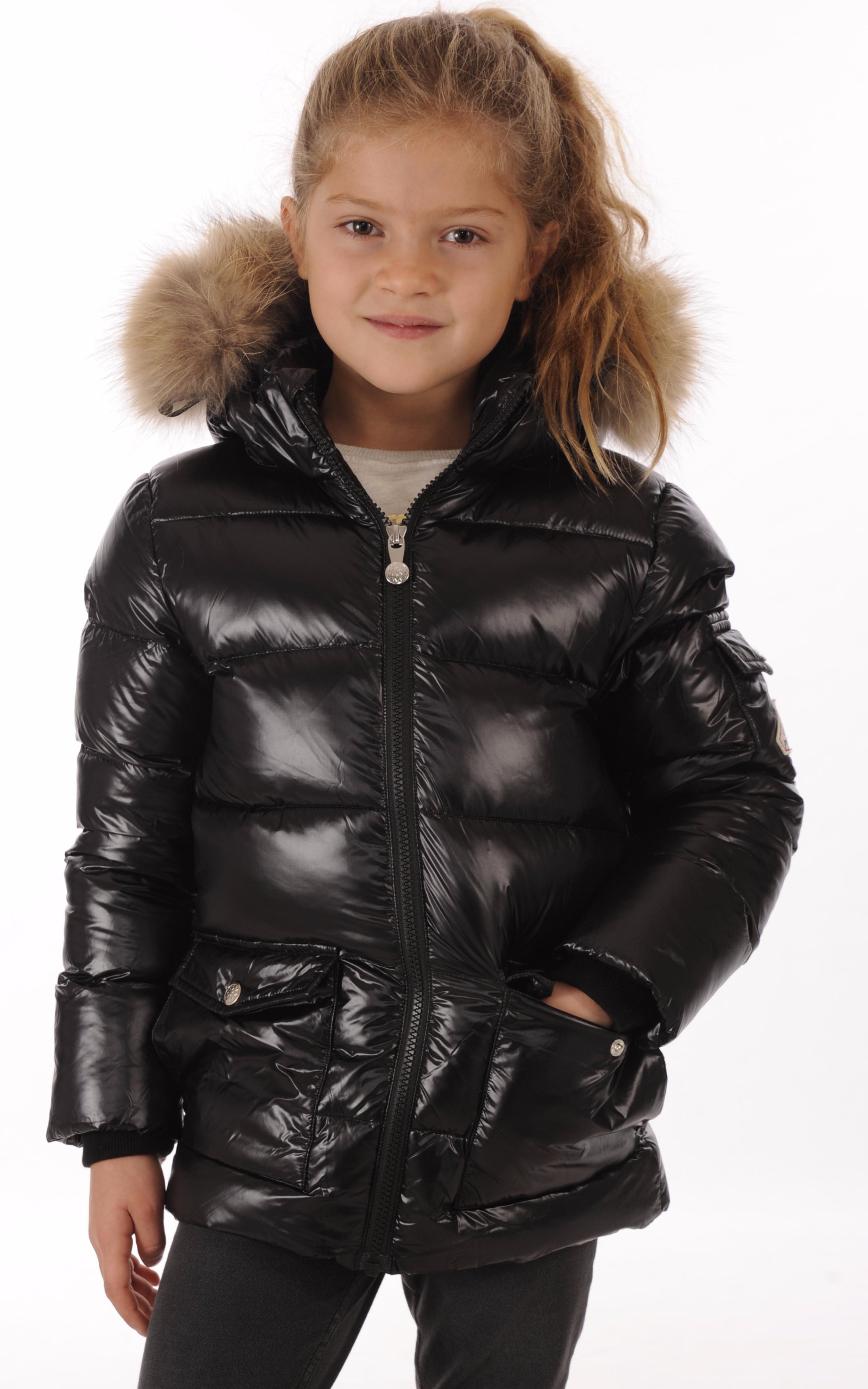 Doudoune Authentic Jacket Noire Fille Pyrenex - La Canadienne ... a41bfa0385c