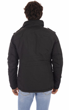 Parka multipoches Field Noir