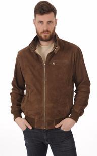 Blouson Cuir Velours Homme La Canadienne | Mens outfits