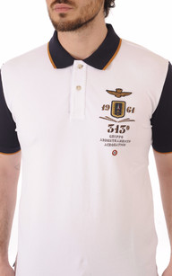 Polo Blanc Patch