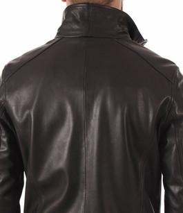 Blouson Falcon Cuir Noir Daytona 73