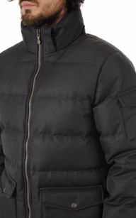 Doudoune Authentic Jacket Drill Grise Homme Pyrenex