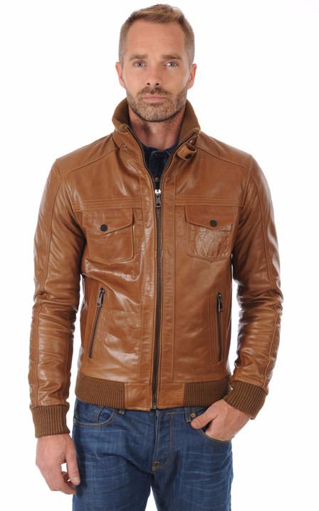 Serge Pariente Homme   Blouson cuir, veste en cuir Serge Pariente 61a736aa8a96