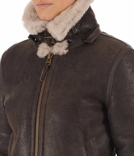 Bombardier Femme En Mouton La Canadienne