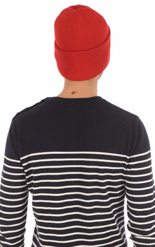 Bonnet Arctic Disc rouge