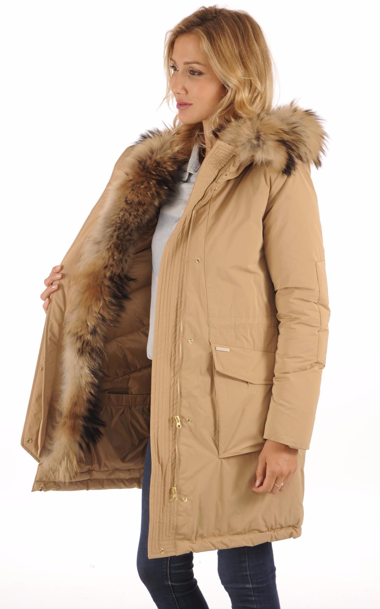 Parka WS Military Camel pour Femme