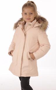 Parka G'S ARCTIC Rose Poudré Fille1