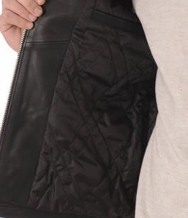 Blouson LC952 Cuir Vachette Noir Schott