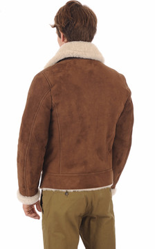 Blouson Velours Lcb100s marron