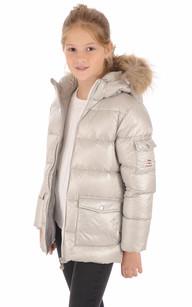Doudoune Authentic Jacket Shiny Girl Metallic1