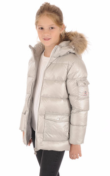 Doudoune Authentic Jacket Shiny Girl Metallic1