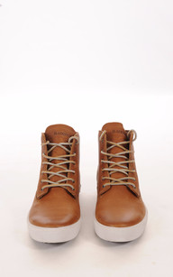 Baskets Cuir Homme Camel Blackstone