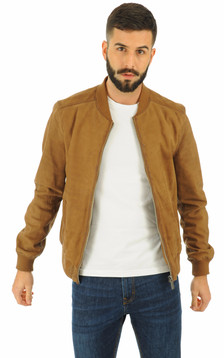 Oakwood - Blouson en cuir mouton marron1