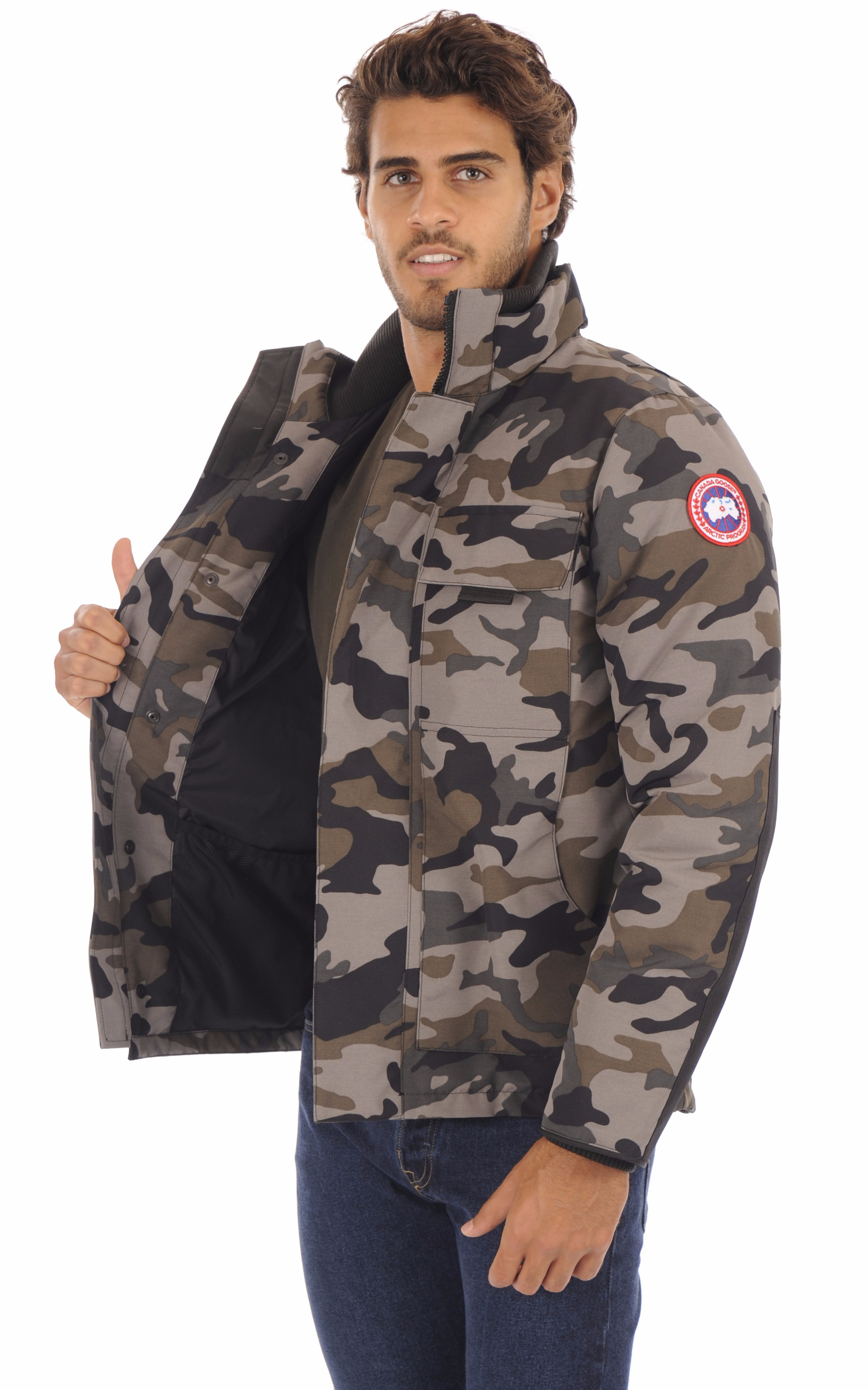 Parka Forester Camouflage Canada Goose