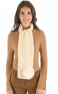 Echarpe en laine et cachemire lin