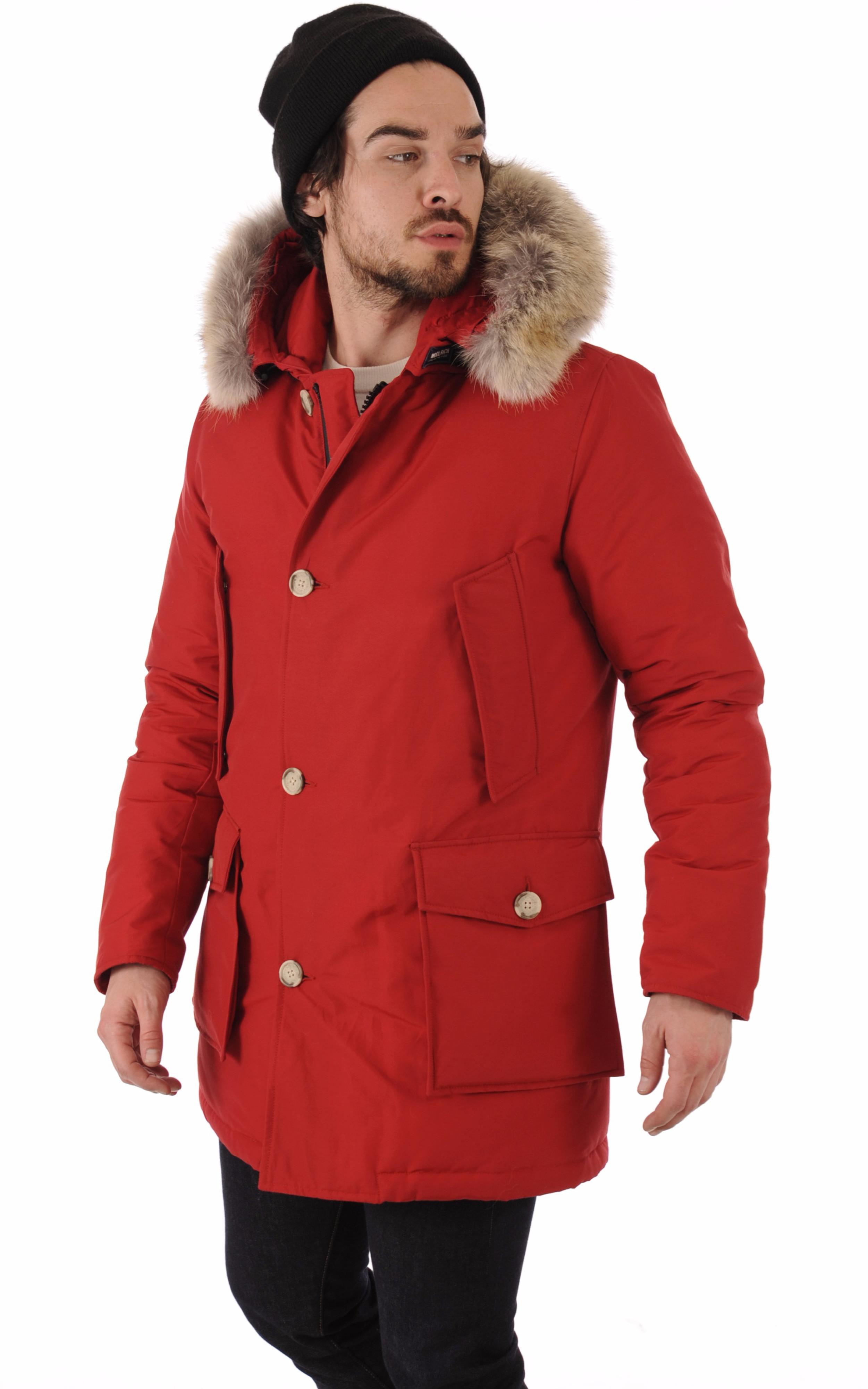 Parka Arctic Df rouge Woolrich