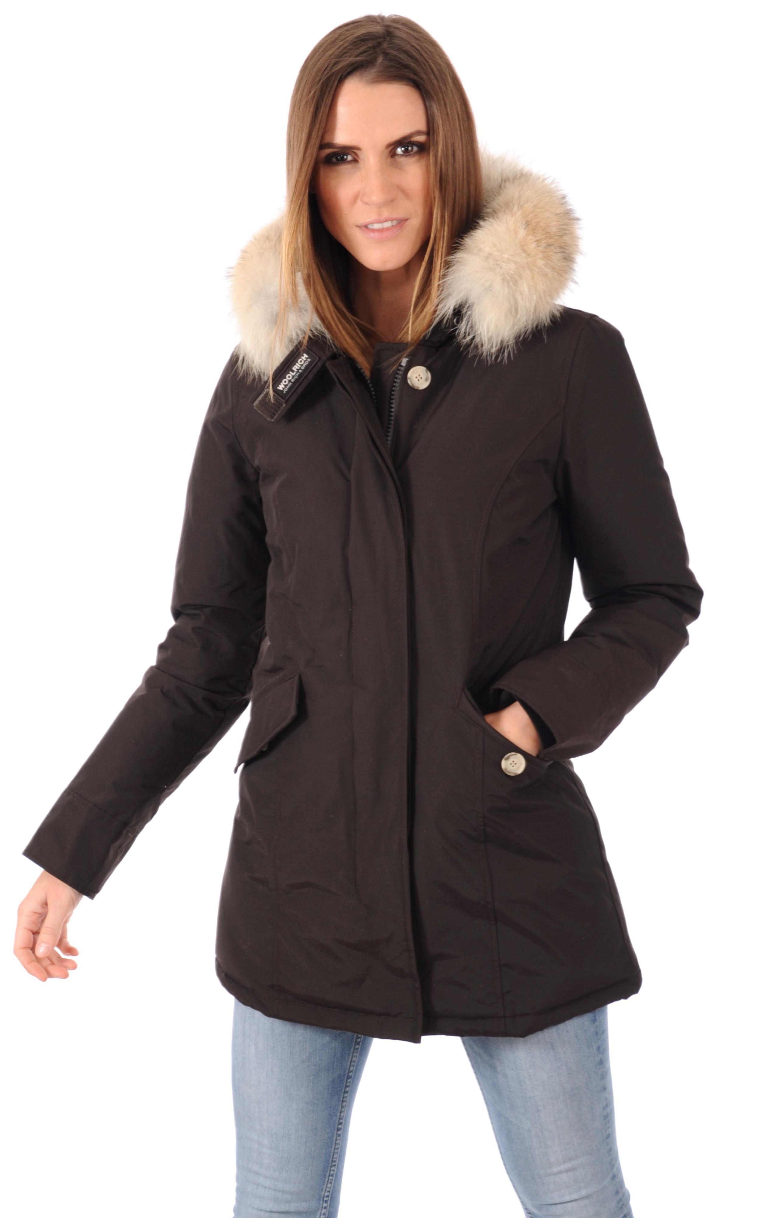 parka femme marron woolrich la canadienne doudoune parka textile brown. Black Bedroom Furniture Sets. Home Design Ideas