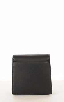 Sac Cuir Noir Style Pochette