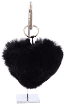 Porte Clef Herz Noir