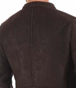 Blouson Chaud Mérinos Marron Smarty