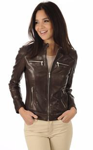 Veste et blouson en cuir femme