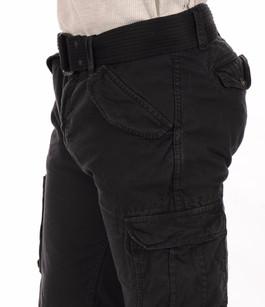 Pantalon Cargo Noir Schott
