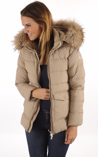 Doudoune Authentic Jacket Beige