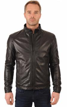 blouson et veste cuir 3 4 strellson pour homme la canadienne. Black Bedroom Furniture Sets. Home Design Ideas