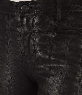 Pantalon Slim Cuir Stretch Effet Reptile Closed
