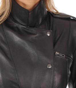 Veste Officier noire Peau d'Âne