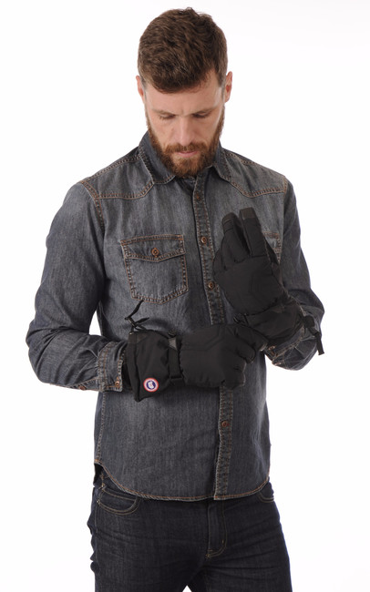 Gants Artic Down Glove Black Homme Canada Goose