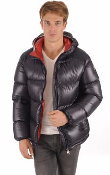 Doudoune 1238 Marine Textile Homme1