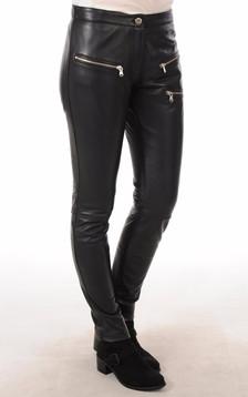 Pantalon Cuir Femme Style Rock
