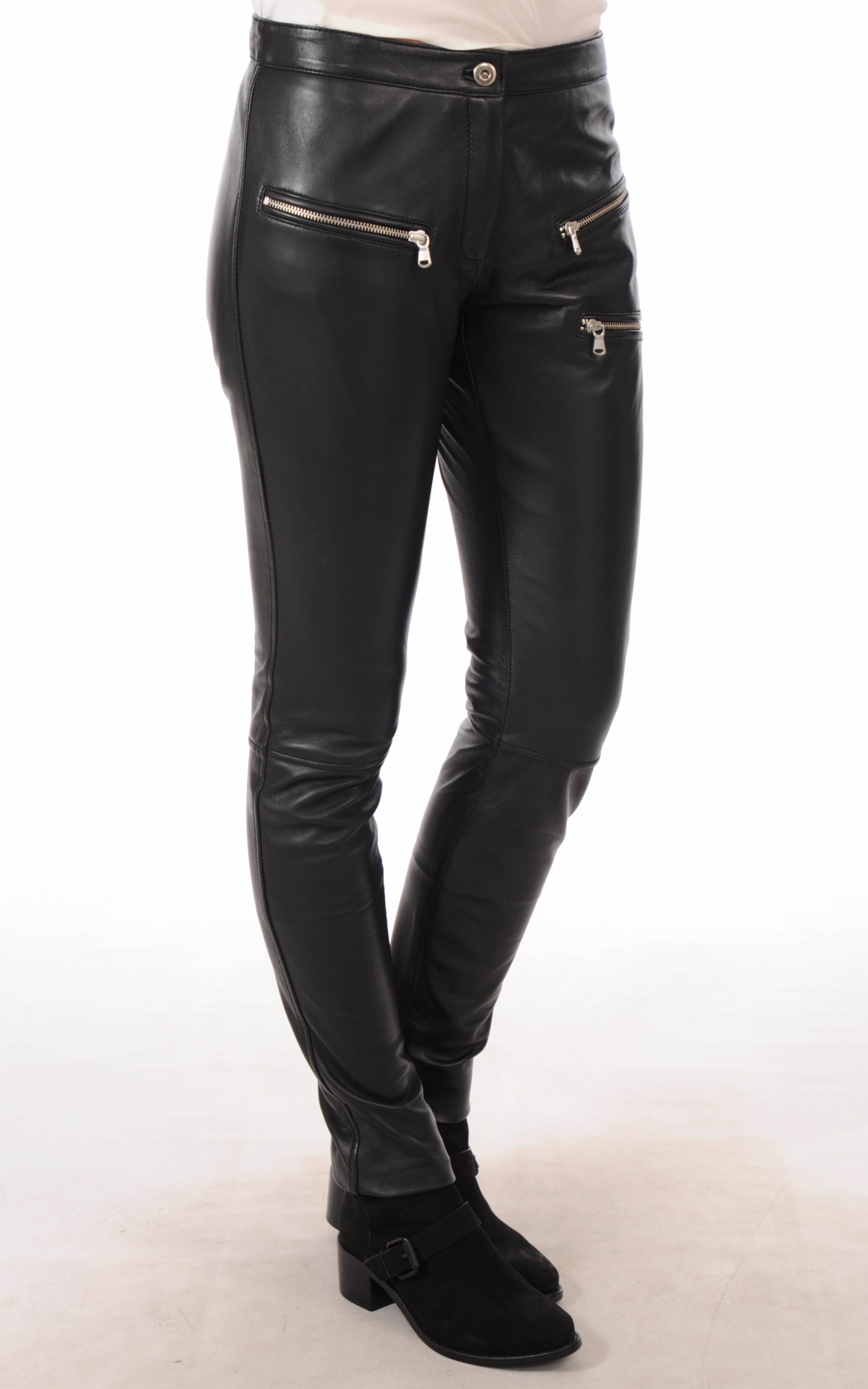 Pantalon Cuir Femme Style Rock Maddox