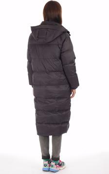 Doudoune longue Alix noire