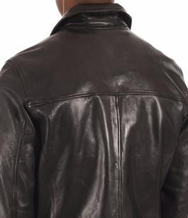 Blouson Cuir Noir  Homme Daytona 73