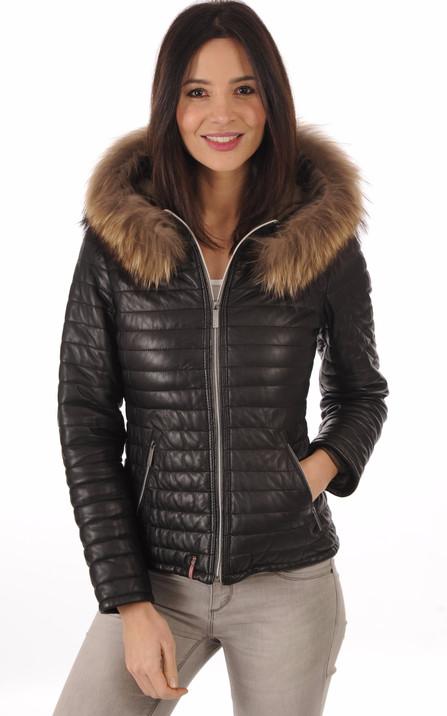 Oakwood Femme   Blouson cuir, veste en cuir et doudounes Oakwood f78b407b475