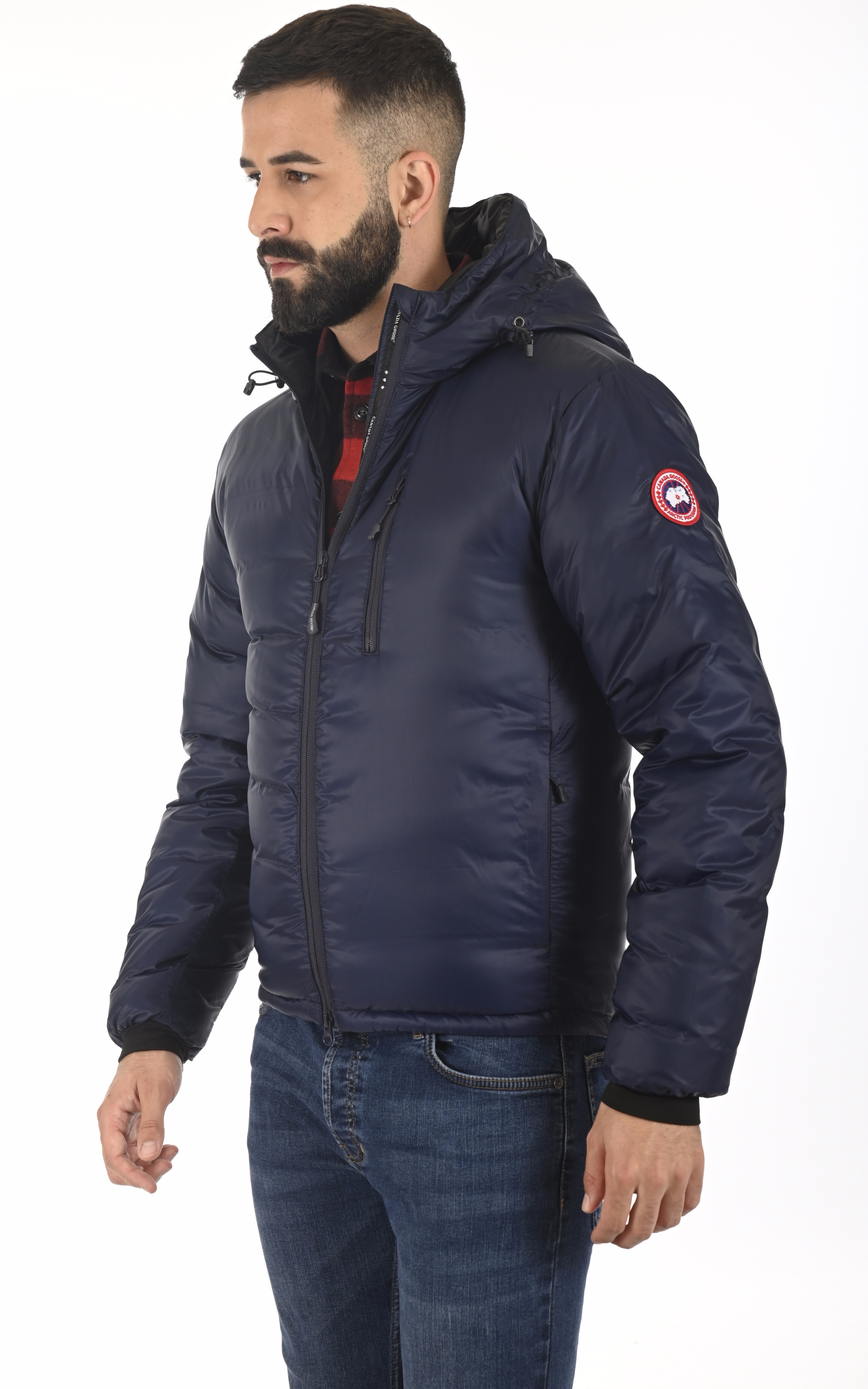Doudoune fine Lodge admiral blue Canada Goose