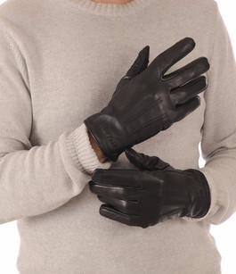 Gants Cuir de Vachette Noir Redskins