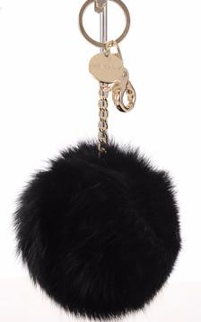 Porte-clé lapin noir1
