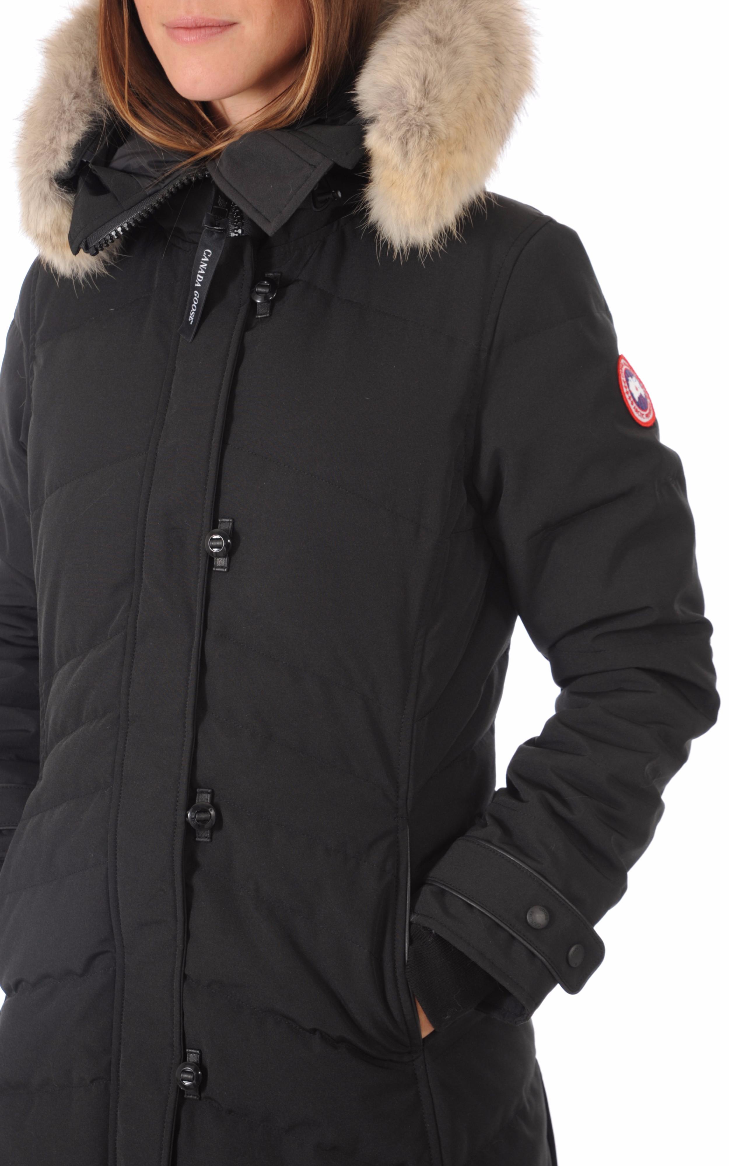 Parka Lorette noire Canada Goose