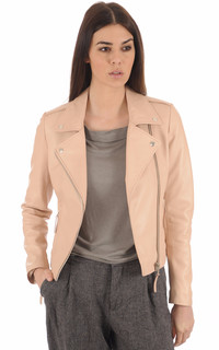 Blouson City Girl Rose Poudré