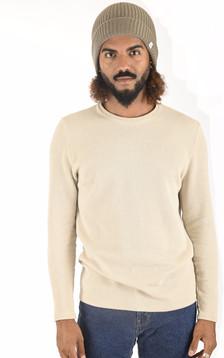 Bonnet en laine Brice taupe