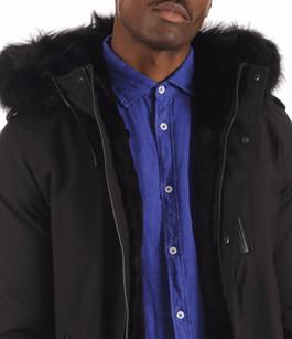 Parka Homme SETH-X Black Mackage