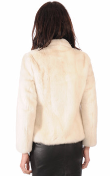 Veste Fourrure Vison Naturel