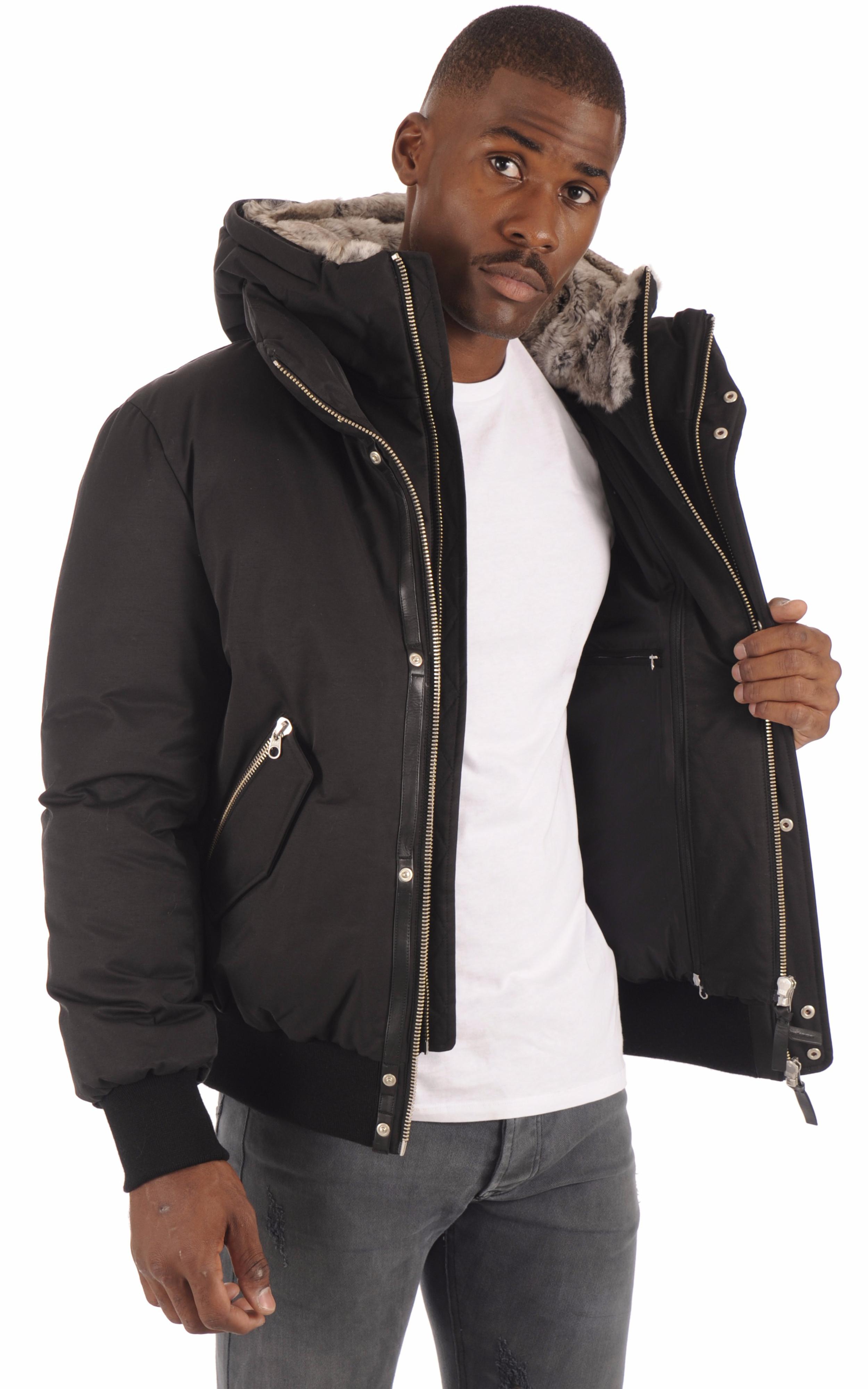 Doudoune courte Dixon-X noir Mackage