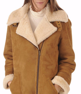 Veste Merinillo Coupe Loose Miel La Canadienne